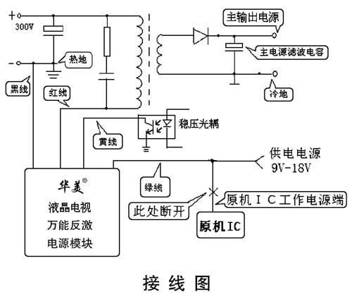【华美牌液晶电视反激式万能电源模块hm802】价格